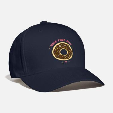 Donut chocolate donut hole food diet birthday gift idea - Baseball Cap