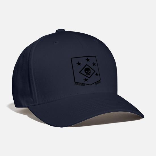 f5fe8c62 Marine Raider Skull Baseball Cap   Spreadshirt