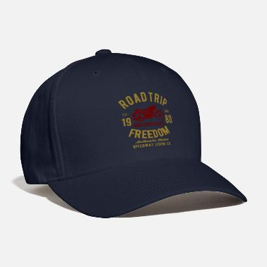 Freedom Of Expression road trip freedom speedway legend - Baseball Cap