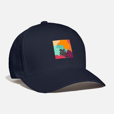 Graphic Art Abstract Graphic Art - Baseball Cap