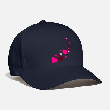 mix various brwon heart - Baseball Cap