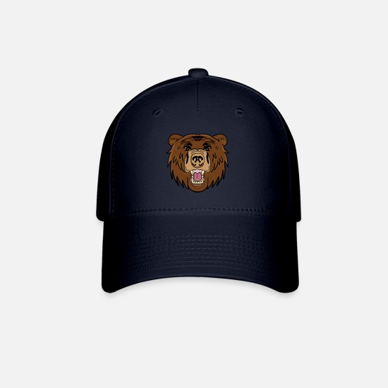 Pet Caps - Brown bear - Baseball Cap navy