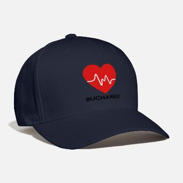 Bucharest Heart Bucharest - Baseball Cap