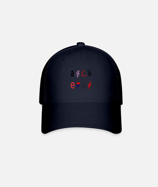 Alphabet Caps & Hats - Letters - Baseball Cap navy