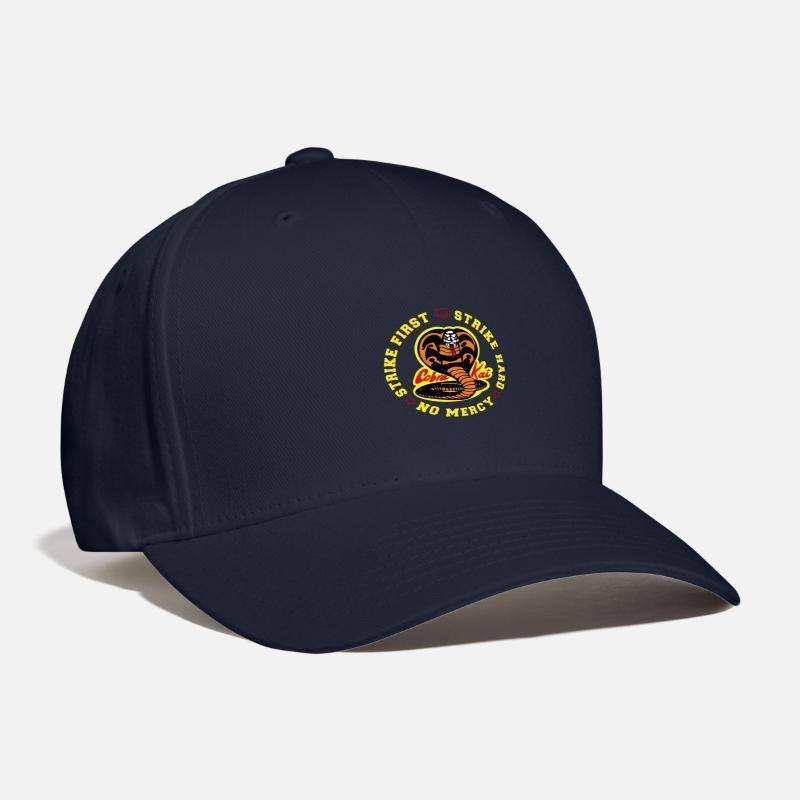 58aa12251e1a6 Cobra Caps - Cobra Kai - Baseball Cap navy