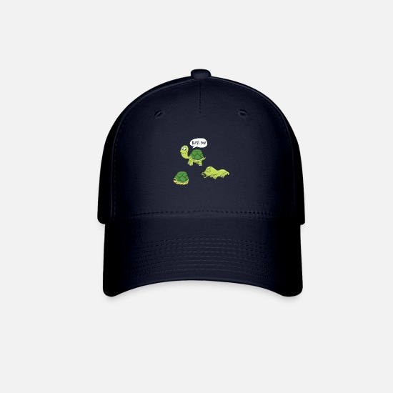 Bless You Caps - Bless you - turtle slips out of its shell - Baseball Cap navy