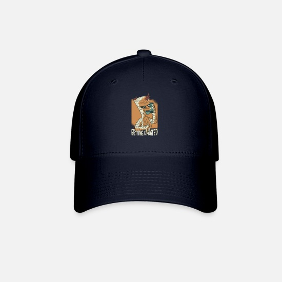 Mummy Caps - Mummy call pharao mobile phone update - Baseball Cap navy