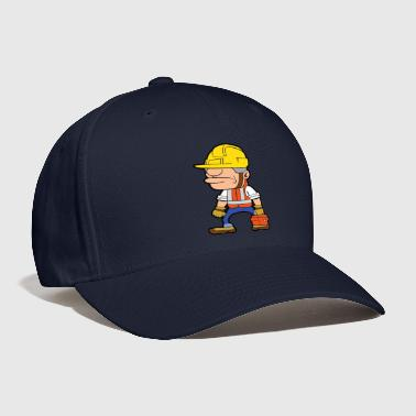 Labor Construction Worker Builder Building Laborer - Baseball Cap