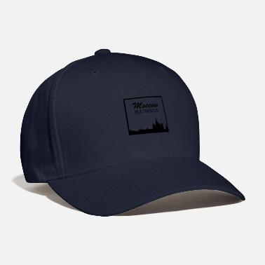 Favourite City Moscow Russia City Silhouette - Baseball Cap
