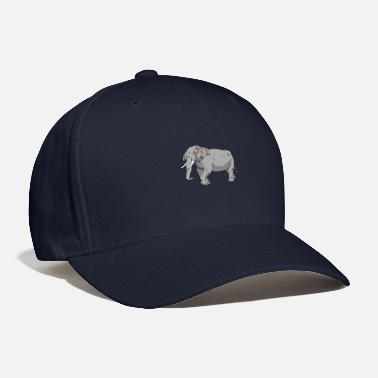Graphics Vector-design Vector-graphic elephant in vector graphic design - Baseball Cap