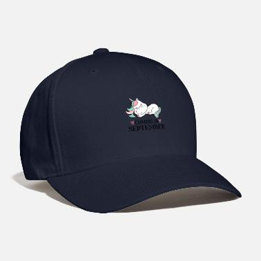 Baby Due Date September Maternity Due Date Unicorn - Baseball Cap