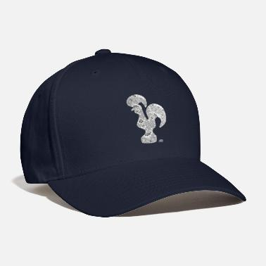 Illustration Knit Galo de Barcelos Rendado - Baseball Cap