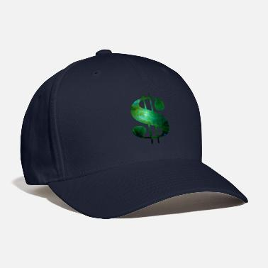 Dollar Sign Space Dollar Sign - Baseball Cap