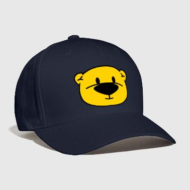 teddy bear comic - Baseball Cap