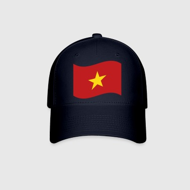 Vietnam Flag Wave - Baseball Cap
