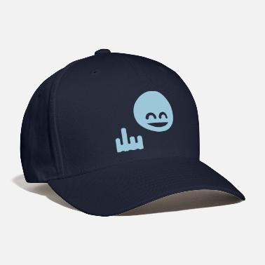 Single Show The Single Finger Emoticon (Fuck Off / You) - Baseball Cap