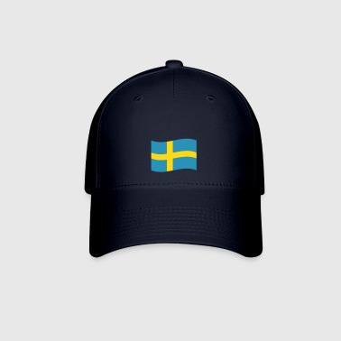 Sweden vector flag - Baseball Cap