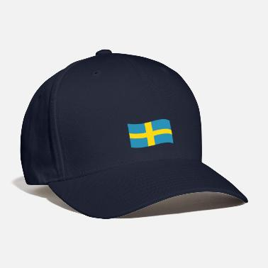 Sweden Sweden vector flag - Baseball Cap