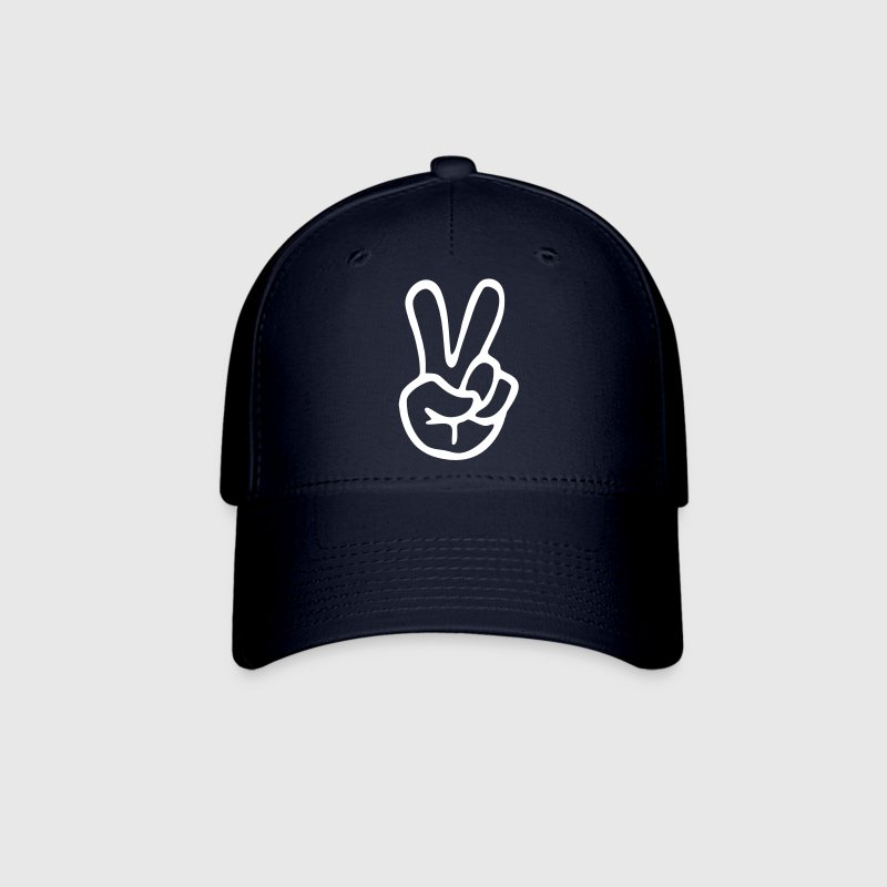 Peace Sign Hand - Baseball Cap