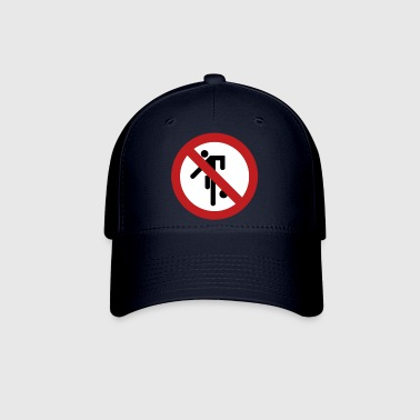 NO Ball Games Sign - Baseball Cap