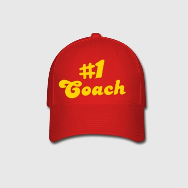 number # 1coach - Baseball Cap