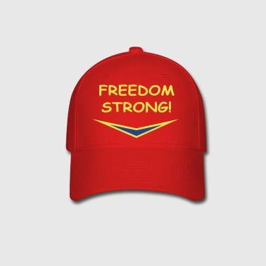 Freedom Strong in blue, vector - Baseball Cap
