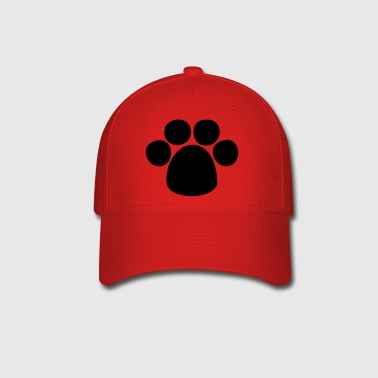 Puppy Paw HD VECTOR - Baseball Cap