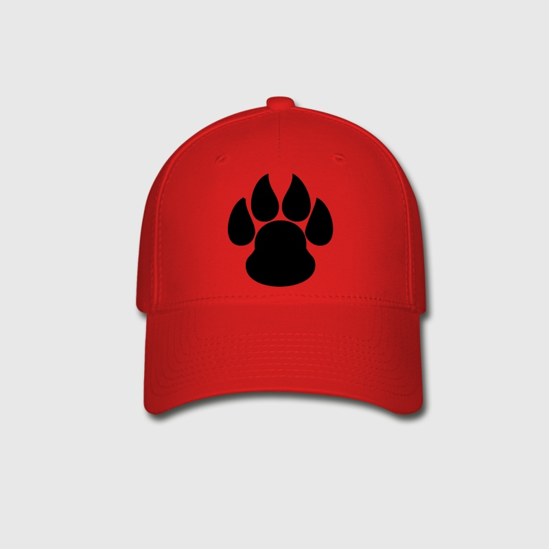 Paw Print HD VECTOR - Baseball Cap