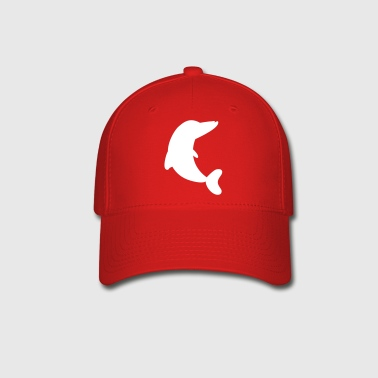 dolphin up - Baseball Cap