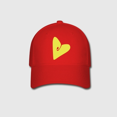 Unique heart  - Baseball Cap