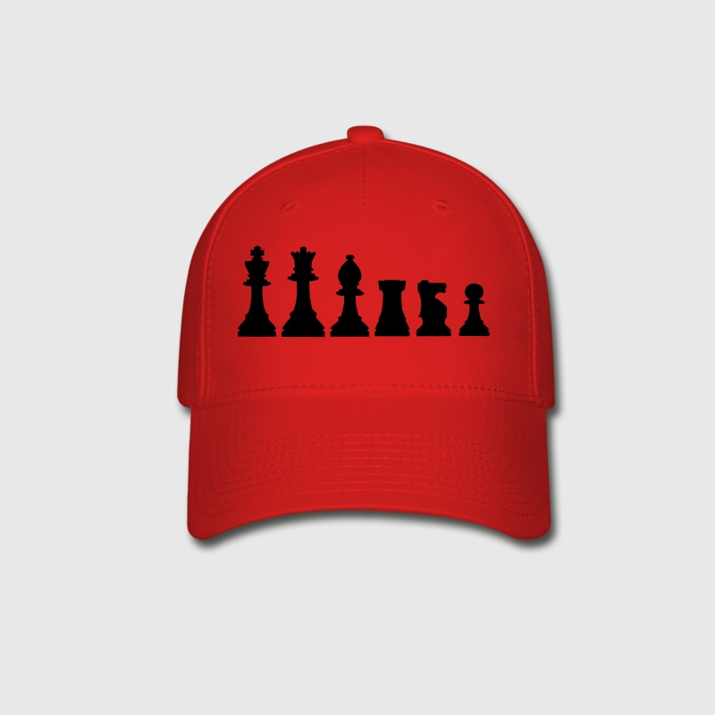 Pawns, chessmen, chess pieces - Baseball Cap