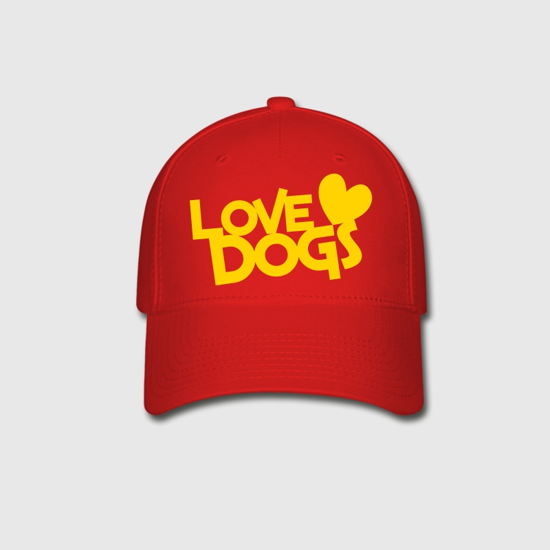 love dogs dog lover - Baseball Cap
