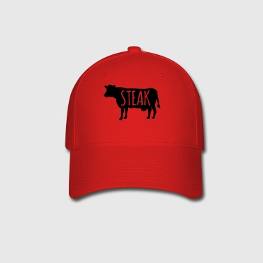 Cow steak - Baseball Cap