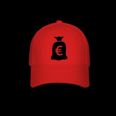 Bag of money euro - Baseball Cap