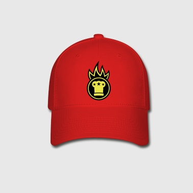 Chef's hat on fire - Baseball Cap