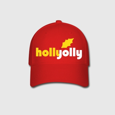 Holly Jolly Vector - Baseball Cap