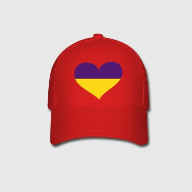 Ukraine Heart; Love Ukraine - Baseball Cap