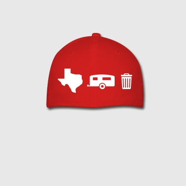 Texas Trailer Trash (Icons - Horizontal/Light Hue) - Baseball Cap