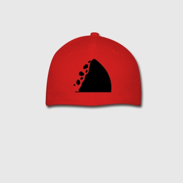 Traffic signs series - Caution falling rocks - Baseball Cap