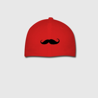 Moustache - Like a sir - Beard - Baseball Cap