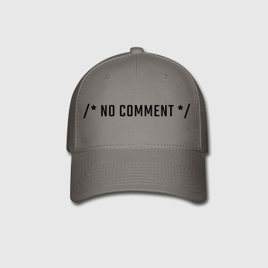 /* NO COMMENT */ - uppercase - Baseball Cap