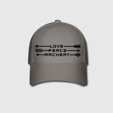 Love, Peace & Archery (Boys) (Archery by BOWTIQUE) - Baseball Cap