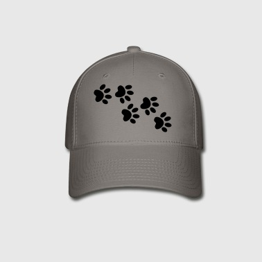 Cute cat pet footprint - Baseball Cap