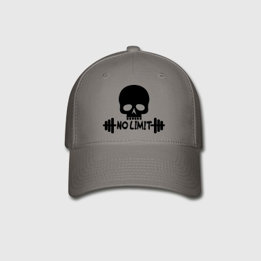 No Limit / Bodybuilding / Skull - Baseball Cap