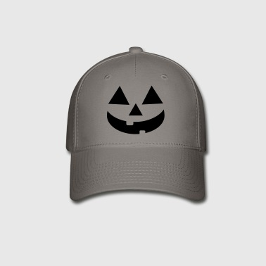 Pumpkin Face Halloween - Baseball Cap