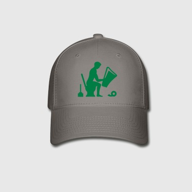 toilet guy - Baseball Cap
