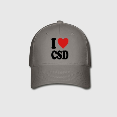 I love CSD (variable colors!) - Baseball Cap