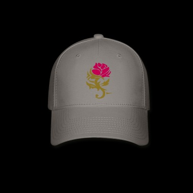 Rose Design - Baseball Cap