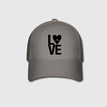 Mountain love - outdoor hiking design - Baseball Cap