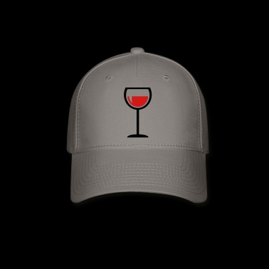 wine glass - drink - Baseball Cap
